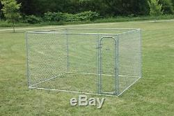 10X10 Dog Kennel House Outdoor Cage Fence Large Pen Playpen Exercise Box Pet DIY