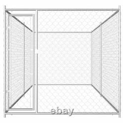 12.5ft Outdoor Dog Kennel Dog Crate Pet Play House Animal Exercise Playpen Fence