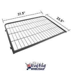 16-Panels 24 Tall Folding HeavyDuty Metal Dog Playpen Exercise Pen Fence Kennel