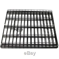 2448 Tall Wire Fence Pet Dog Cat Folding Exercise Yard 8 Panel Metal Play-Pen