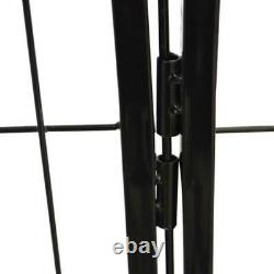 24 16 Panels Tall L Dog Playpen Large Crate Fence Pet Play Pen Exercise Cage