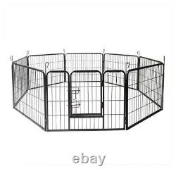 24-48 inch Tall Wire Fence Pet Dog Folding Exercise Yard Metal Play-Pen OxGord