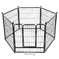 35.1x39 inches Tall Dog Playpen Large Crate Fence Pet Play Pen Exercise Cage