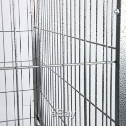 3XL 48 Dog Crate Kennel Heavy Duty Pet Cage Playpen with Metal Tray Exercise PanT
