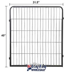 40 Tall Folding 16-Panel Heavy Duty Metal Dog Playpen Exercise Pen Fence Kennel