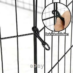 8 / 16 Panel Tall Folding Heavy Duty Metal Dog Playpen Exercise Pen Fence Kennel