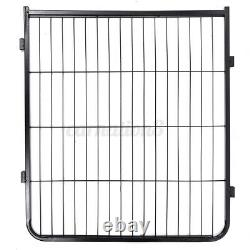 8 Panel 40 Metal Pet Dog Cat Exercise Fence Playpen Kennel Safety In/outdoor US