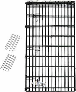 BRAND NEW Foldable Metal Pet Dog Exercise Fence Pen With Gate 48 Inches