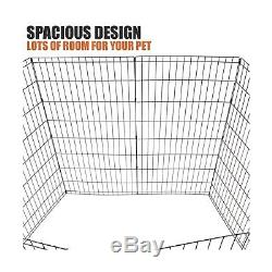 BV Pet Foldable Exercise Pen / Dog Playpen, 8 Panels with Single Door 48