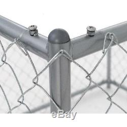 Chain Link Fence Outdoor Dog Run Kennel Extra Large Dogs Exercise Pet Pen XL
