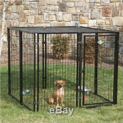 Cottageview Dog Kennel Puppy Fence Exercise Pen Cage Enclosure Quality Durable