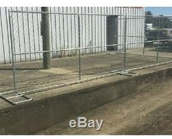 DOG KENNEL EXERCISE PEN 144Sq Ft 6High Chainlink With Gate & Roof