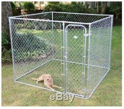 Dog Kennel Cage Pet Box Wire Chain Fence Outdoor Playpen Exercise Pen Crate Pet