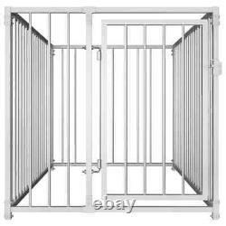 Dog Kennel Heavy Duty Puppy Cat Pet House Training Exercise Playpen Garden Fence