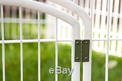 Dog Pet Play Pen Exercise Indoor Outdoor Cage Portable Fence Puppy Rabbit House