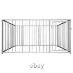 Dog Playpen House Heavy Duty Dog Kennel Fence Outdoor Exercise Garden Cage S M L