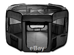 ESK Collection 48 Pet Puppy Dog Playpen Exercise Pen Kennel 600d Oxford Cloth B