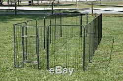 Extra Large Heavy Duty Pet Exercise Pen 32 Inches High