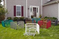 Easy Pet Playpen Indoor Outdoor Fence Dog Puppy Animal Exercise Pen Corral New