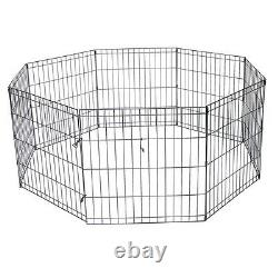 Exercise Pens for Big Dogs & Pets xLarge AFFORDABLE 48 Black Wire Ex Pen Yard