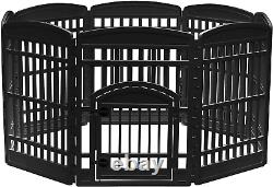 Exercise Pet Playpen and Panels for Dog, Puppy and Small Animals, 34 8 Panels