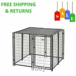 Fencemaster 5 Ft x 5 Ft x 4 Ft Dog Kennel Heavy Duty Pet Playpen Dog Exercise