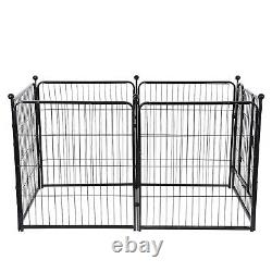 Foldable Portable Pet Puppy Cat Exercise Barrier Fence Pet Dog Playpen Play