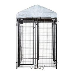 H6xL8xW4 FT Outdoor Pet Dog Kennel Gazebo Playpen Cage Exercise Crate Fence Pen