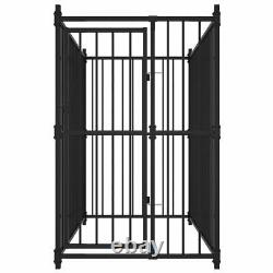 Heavy Duty Dog Kennel Pet Outdoor Fence Metal Exercise Playpen Run House S-XXL