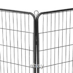 Heavy Duty Dog Playpen 8 Panel Metal Pet Puppy Cat Exercise Fence Kennel Outdoor