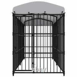 Heavy Duty Metal Cage Crate Pet Dog Exercise Fence Playpen House Puppy Kennel