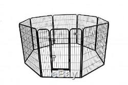 Heavy Duty Pet Playpen Dog Exercise Pen Cat Fence Small Animal Cage 40-Inch NEW