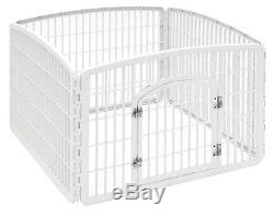 IRIS Indoor/Outdoor Large Dog Pet Exercise Play Yard Pen Cage, New