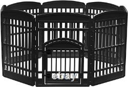 Iris Usa Exercise Pet Playpen And Panels For Dog, Puppy And Small Animals
