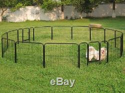 Large Heavy Duty Playpen Dog Kennels Pet Crates Exercise Pen Barrier Cage Fence