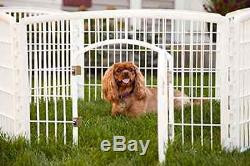 Large Indoor Outdoor Dog Pet Playpen Exercise Fences & Exercise Pens Play Pens