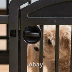 Large Indoor Outdoor Dog Pet Playpen Exercise Pen Play Yard Cage Kennel Fence