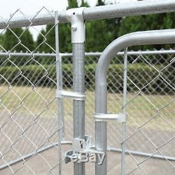 Large Outdoor Dog Pet Playpen Exercise Play Yard Cage Kennel Fence 7.5 x 7.5