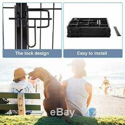 Large heavy duty pet dog playpen Exercise Pens Cat Fence metal outdoor portable