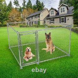 Lonabr Large Outdoor Dog Cage Pet Playpen Kennel Fence Playing Running Exercise