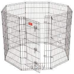 Lucky Dog 48 Dog Exercise Pen withStakes