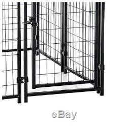 Lucky Dog Modular Welded Wire Kennel Pet Play Pen Fence Exercise Heavy Duty