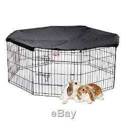 Lucky Dog Pet Exercise Pen with Cover, 24 x 6