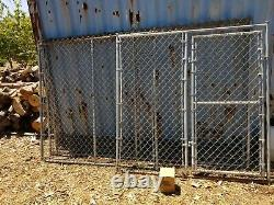 Metal Dog Playpen Heavy Duty Exercise Kennel Outdoor Fence Cage