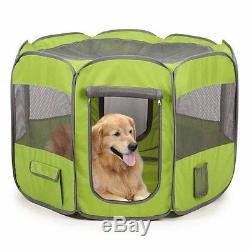 NEW! Dog Insect Shield Fabric Large Exercise Pet Pen Fern