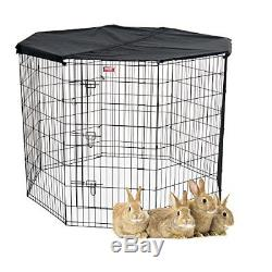 NEW Lucky Dog Pet Exercise Pen with Cover, 48 x 6' FREE2DAYSHIP TAXFREE