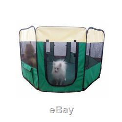New 59 Pet Dog Playpen Puppy Exercise Pen Kennel Yard