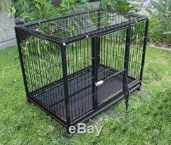 New Heavy Duty Dog Pet Cage Crate Kennel XL 42 Playpen Exercise Pen