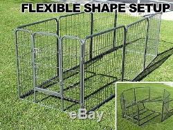 New MTN Heavy Duty Dog Playpen Pet Cage Exercise 32 Pen Fence House
