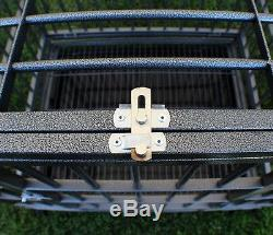 New XL-42 Heavy Duty Level III Dog Pet Cage Crate Kennel Playpen Exercise Pen